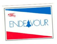 NASA Space Shuttle Endeavour Decal